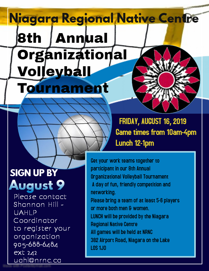 NRNC Volleyball Tournament 8th Annual Organizational @ NRNC Main